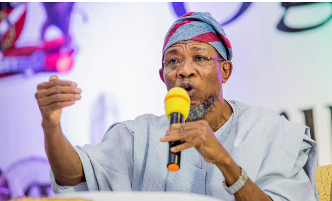 Minister for Interior, Rauf Aregbesola.